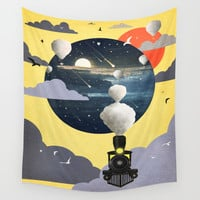 Journey ver.2 Wall Tapestry by Tjc555