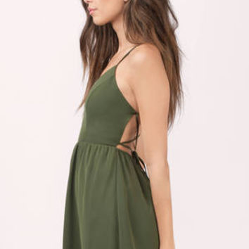 Sonya Strappy Skater Dress