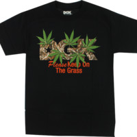 DGK KEEP ON THE GRASS SS S-BLACK