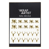 Wrap Artist Nail Decals - Bone Structure
