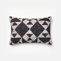 Loloi Charcoal / Ivory Decorative Throw Pillow (P0098)