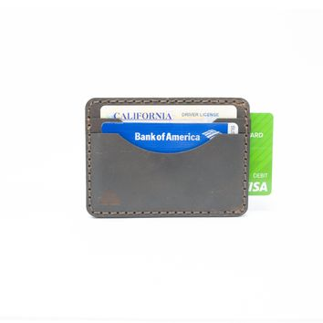 Hemlock Money Clip Wallet (Nut Brown)