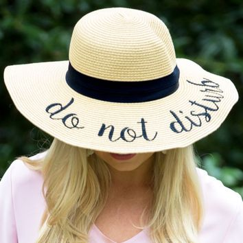 Do Not Disturb Sun Hat | Monday Dress Boutique