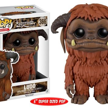 Funko POP Movies: Labyrinth - Ludo Action Figure, 6""