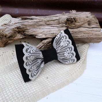Rustic Wedding Dog Bow Tie, Wedding Pet Attire, Dog Accessories