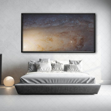 Space Poster Milky Way Photograph Solar System Astronomy Star Constellations Fine Art Wall Decor Celestial Universe Planetary Sky Scientific