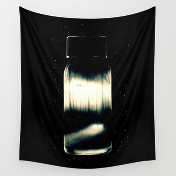 Evidence #001 Wall Tapestry by MidnightCoffee