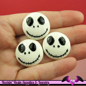4 pc JACK NIGHTMARE Decoden Flatback Decoden Cabochon Cellphone Decoration