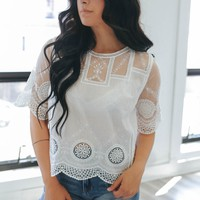 Delicate Daydreams Top