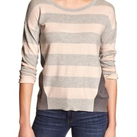 Banana Republic Womens Factory Colorblock Sweater