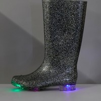 ASOS GLOW Glitter Light Up Wellies at asos.com