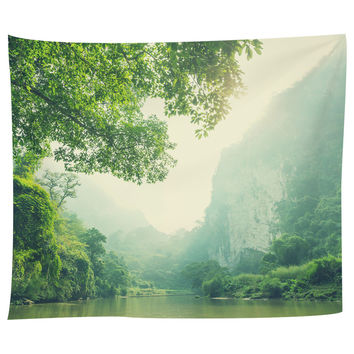Serenity River Tapestry