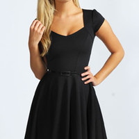 Lara Sweetheart Skater Dress
