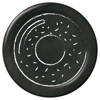 Spritz™ Lunch Plate Black and White Donut 10 Count : Target