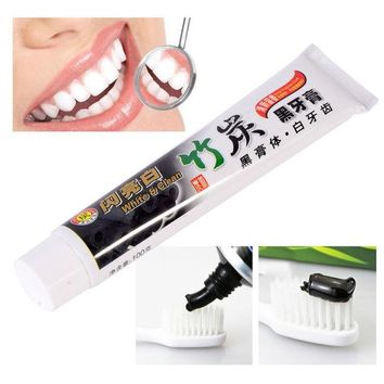 Day-First™ GU82 toothpaste charcoal toothpaste whitening black toothpaste bamboo charcoal toothpaste oral hygiene tooth paste