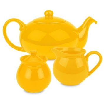 Waechtersbach Fun Factory 3-Piece Tea Set in Buttercup