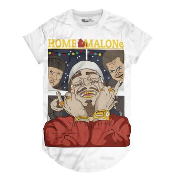 Malone's Still Alone Long Tee