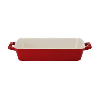 Ceramic Lasagna Pan - Red