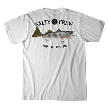 Salty Crew Stripe Bass Tee