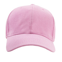 ALL PINK BASEBALL HAT