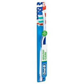 Oral-B Healthy Clean Soft Bristle Manual Toothbrush - 1 Count
