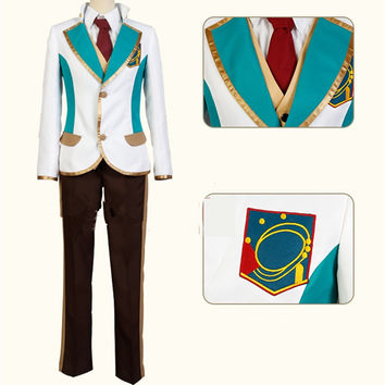 [High School Star Musical] Toru Nayuki  School Uniform Cosplay Costume CP153537