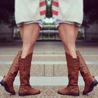 In Too Deep Boots - Cognac
