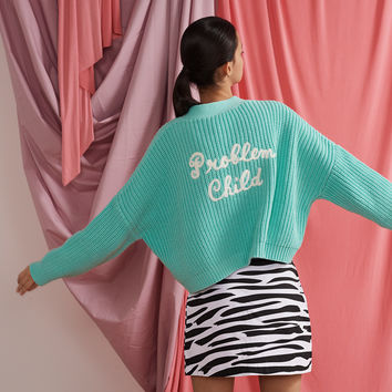 Lazy Oaf Problem Child Cardigan - View all - New In - Womens
