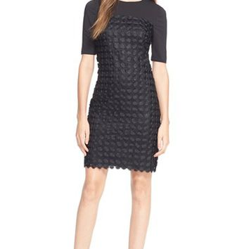 Women's Ted Baker London 'Nadira' Geometric Shift Dress,