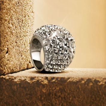 Trema Large Ring - Jewelry - Swarovski Online Shop
