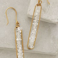 Herkimer Matchstick Earrings by Roost Clear One Size Earrings