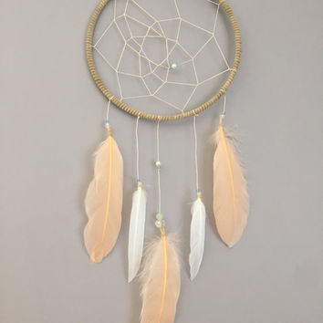 Just Peachy - Dreamcatcher Wall Hanging