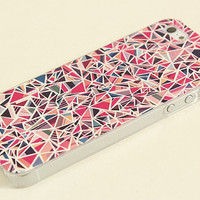 Sale iphone case  iphone 4/4s iphone 5 case  Pink case Hard case 02