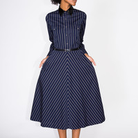 Toga Pulla Striped Dress - WOMEN - SALE - Toga Pulla - OPENING CEREMONY