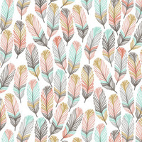 Crib bedding in feather and arrow fabrics-Choose from many different ordering options listed in description