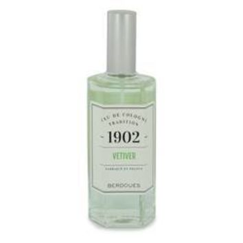 1902 Vetiver Eau De Cologne Spray (Unisex Tester) By Berdoues