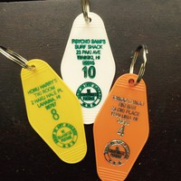 Hawaii Inspired Key Fobs