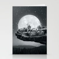 Echoes of a Lullaby Stationery Cards by Soaring Anchor Designs | Society6
