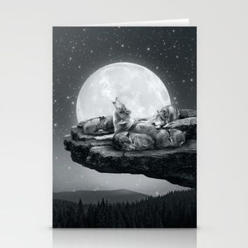 Echoes of a Lullaby Stationery Cards by Soaring Anchor Designs   Society6