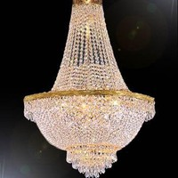 "My Associates Store - French Empire Crystal Chandelier Lighting H30"" X W24"""