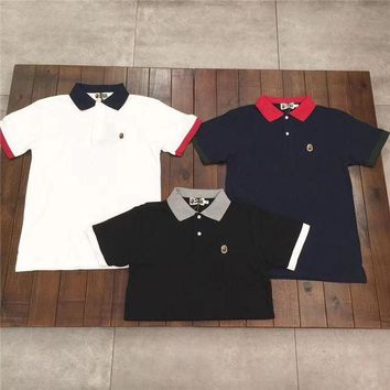 ESBONTJ Bape hit the color POLO shirt [103805255692]
