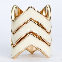 Stacked Jagged Ring