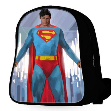 Superman Art Backpack