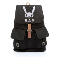 KPOP new accessories B.A.P backpack schoolbag