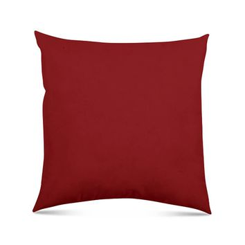 "Stratford Home Indoor/Outdoor Solid Color 24""x24"" Oversized Pillow, Lipstick"