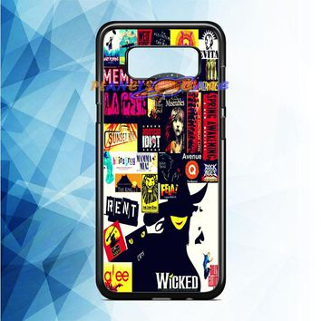 Broadway (collage 2) Samsung Galaxy Note 8 Case Planetscase.com