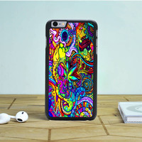 Abstract Trippy Art iPhone 6S Plus Case Dewantary