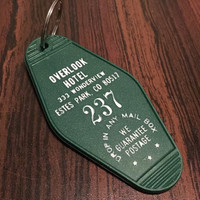 Overlook Hotel keychain The Shining Kubrick key