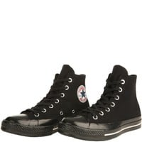 Converse Unisex: Chuck Taylor Team Wool Black Sneakers