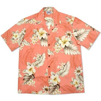 petal hawaiian cotton shirt